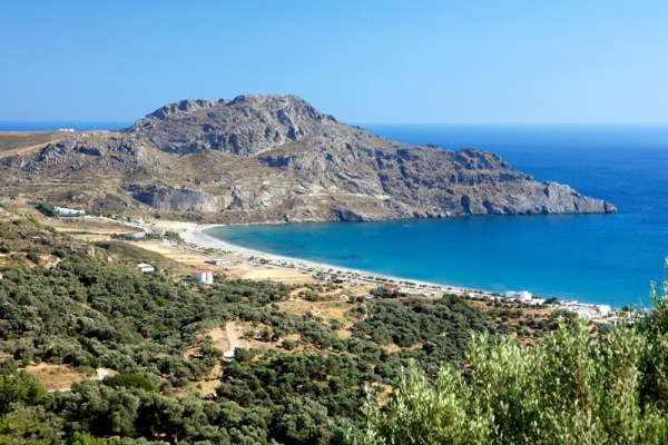 Rent a car in Crete island and explore Plakias village