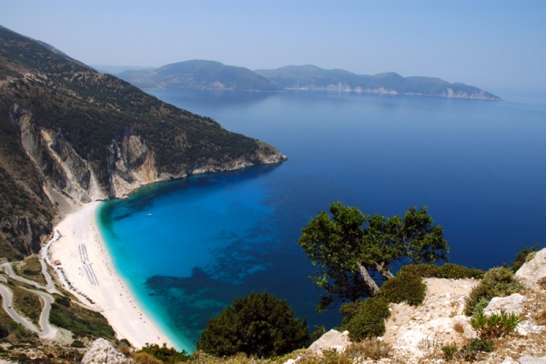 Rent a car in Kefalonia island and explore beautiful beaches