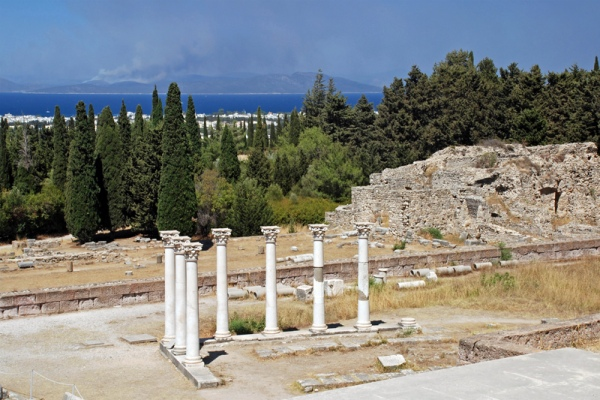 Rent a car in Kos  island and explore Ancient monuments