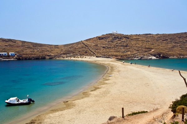 Rent a car in Kythnos  island and explore beautiful beaches