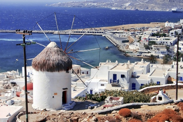 Rent a car in Mykonos island and explore beautiful beaches