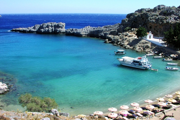 Rent a car in Rhodes island and explore beautiful beaches