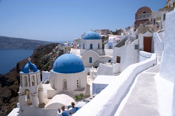 Rent a car in Santorini island and enjoy the beautiful greek sunset