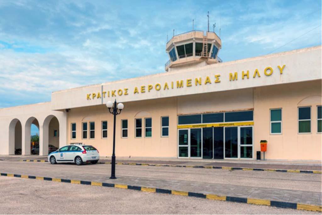 Rent a car at Milos Airport
